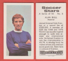 "Arsenal Alan Ball England Everton ""Variant"""